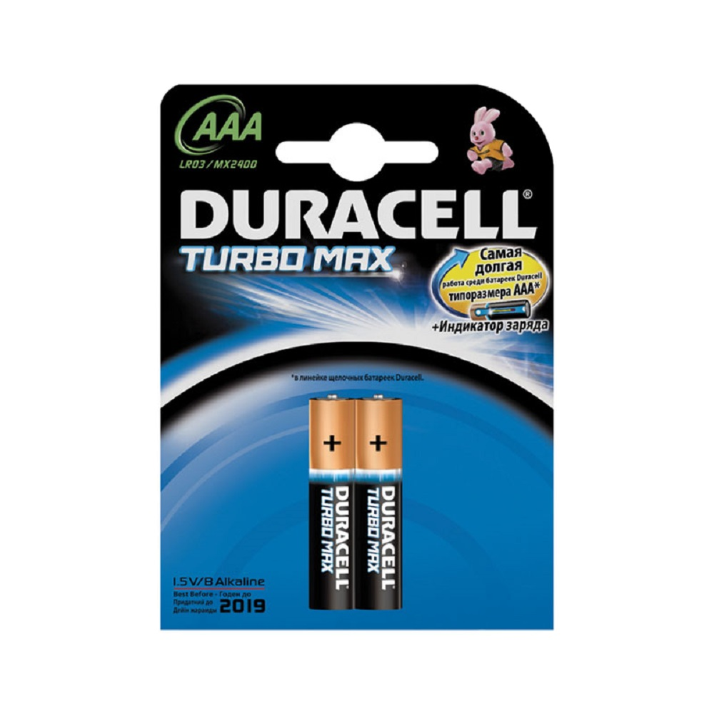 Элемент питания LR03 DURACELL TURBO